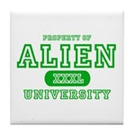 Alien University Tile Coaster