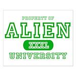 Alien University Small Poster