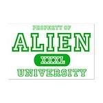 Alien University Mini Poster Print