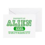 Alien University Greeting Cards (Pk of 10)