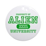 Alien University Ornament (Round)