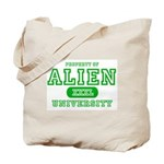 Alien University Tote Bag