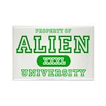Alien University Rectangle Magnet