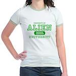Alien University Jr. Ringer T-Shirt