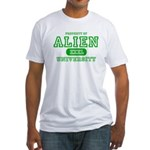 Alien University Fitted T-Shirt