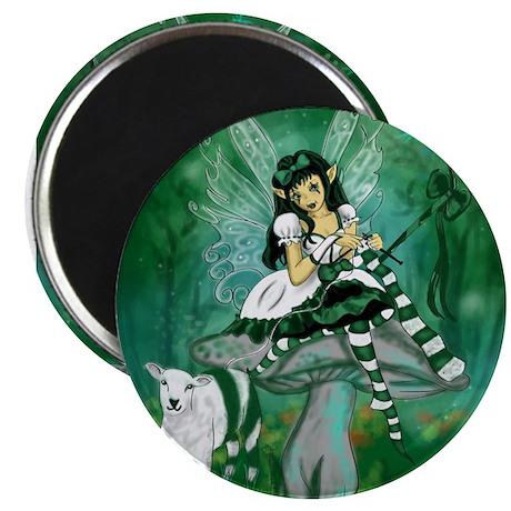 Green Lolita Bo Beep Knitting Fairy Magnet