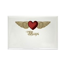 Mayra the Angel Rectangle Magnet