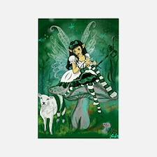 Green Lolita Bo Beep Knitting Fairy Rectangle Magn