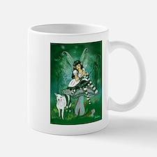 Green Lolita Bo Beep Knitting Fairy Mug