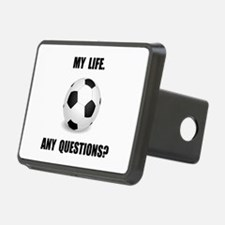 My Life Soccer Hitch Cover