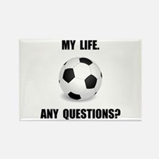 My Life Soccer Rectangle Magnet (10 pack)