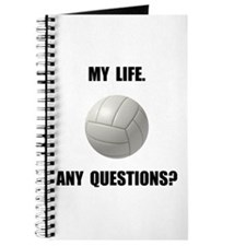 My Life Volleyball Journal