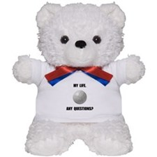 My Life Volleyball Teddy Bear