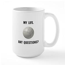 My Life Volleyball Mug