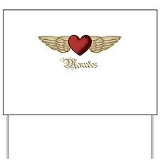 Mercedes the Angel Yard Sign