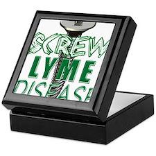 Screw Lyme Disease copy Keepsake Box
