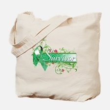 Survivor Floral copy Tote Bag