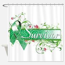 Survivor Floral copy Shower Curtain