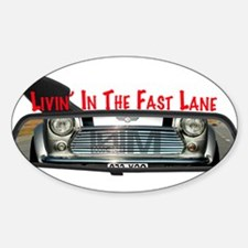 Rearview Mini Bumper Stickers