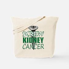 Screw Kidney Cancer copy Tote Bag