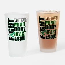 Fight copy Drinking Glass