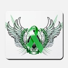 Awareness Tribal Green copy Mousepad