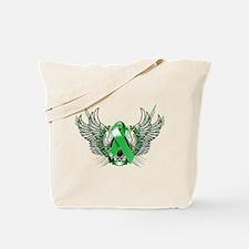 Awareness Tribal Green copy Tote Bag