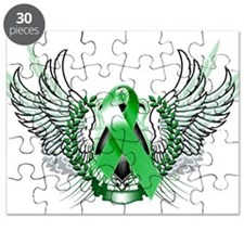 Awareness Tribal Green copy Puzzle