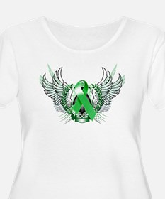 Awareness Tribal Green copy Plus Size T-Shirt