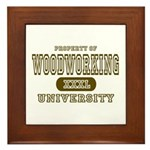 Woodworking University Framed Tile