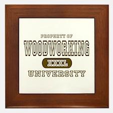 Woodworking University Framed Tile