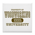 Woodworking University Tile Coaster