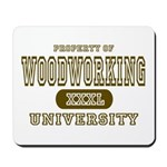 Woodworking University Mousepad