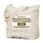 Woodworking University Tote Bag