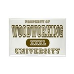 Woodworking University Rectangle Magnet (10 pack)