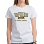 Woodworking University Women's T-Shirt