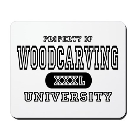Woodcarving University Mousepad