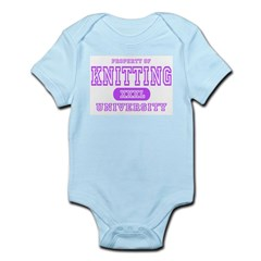 Knitting University Infant Bodysuit