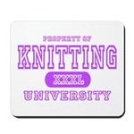 Knitting University Mousepad