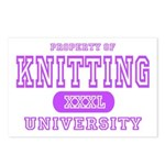 Knitting University Postcards (Package of 8)
