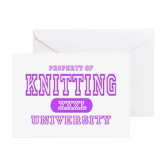 Knitting University Greeting Cards (Pk of 10)