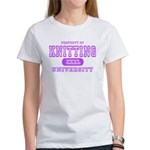 Knitting University Women's T-Shirt