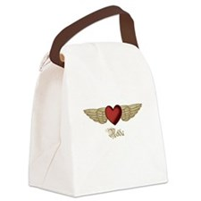 Nelda the Angel Canvas Lunch Bag