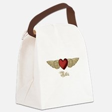 Nelda the Angel Canvas Lunch Bag