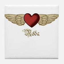 Nelda the Angel Tile Coaster