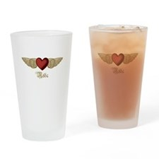 Nelda the Angel Drinking Glass
