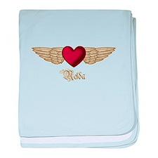Nelda the Angel baby blanket