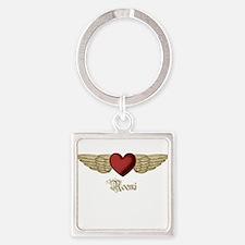 Noemi the Angel Square Keychain