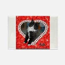 Love of Ash Rectangle Magnet