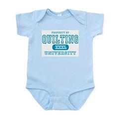 Quilting University Infant Bodysuit